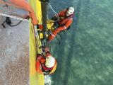 Montage afvoerleiding offshore